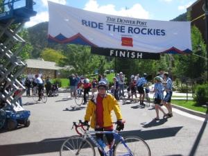 Finish in Glenwood Springs.